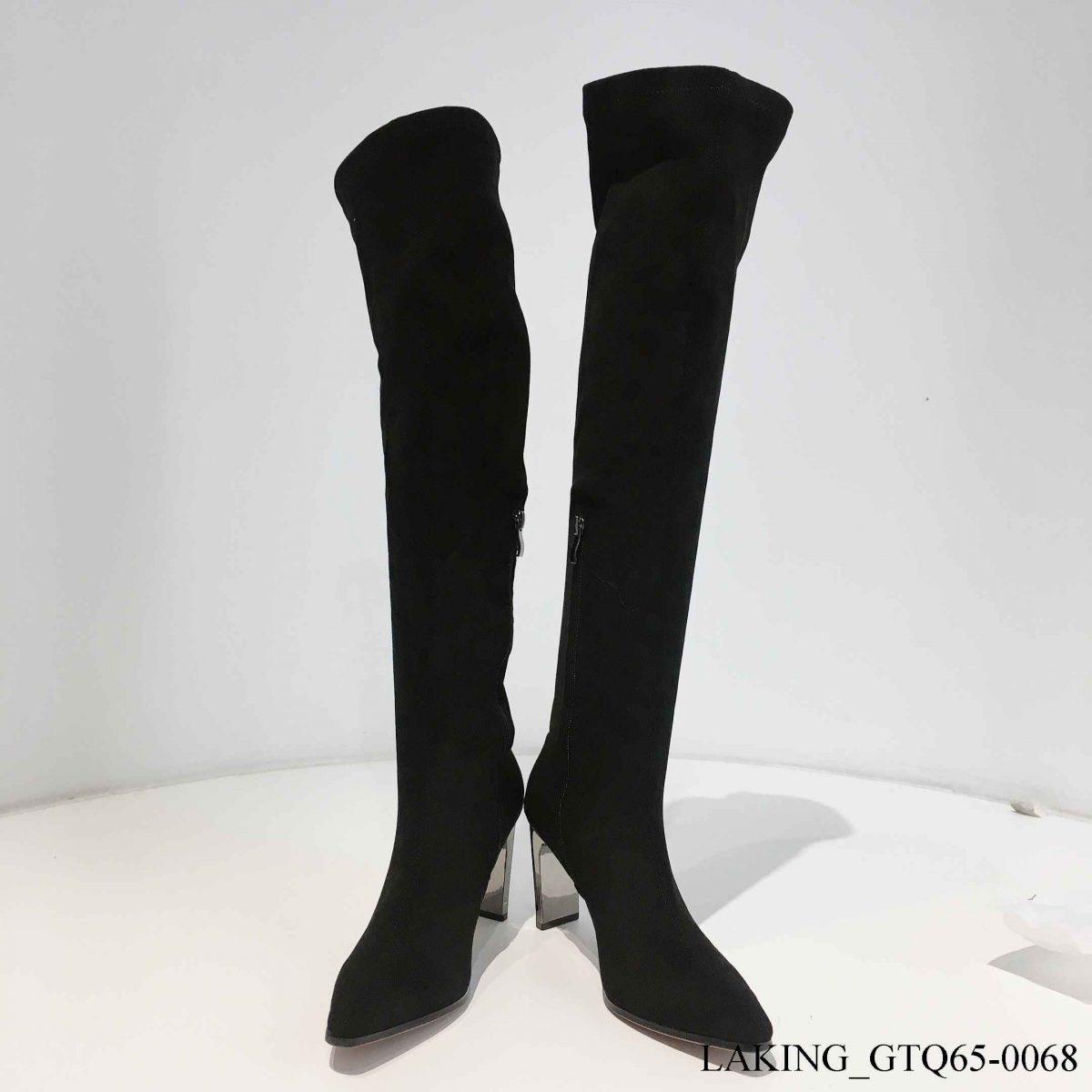 giày boots mũi nhọn
