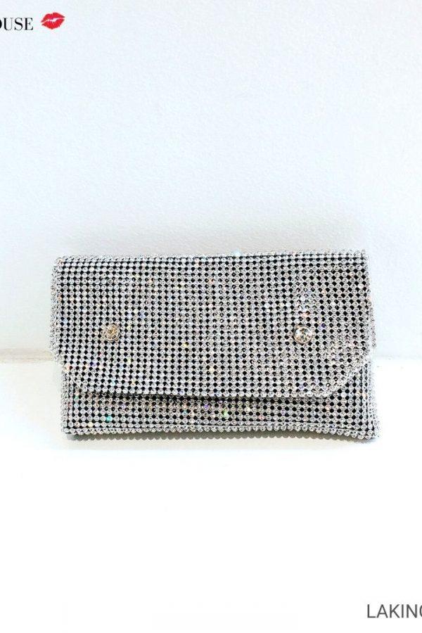 Belt túi hộp đinh pha lê cao cấp