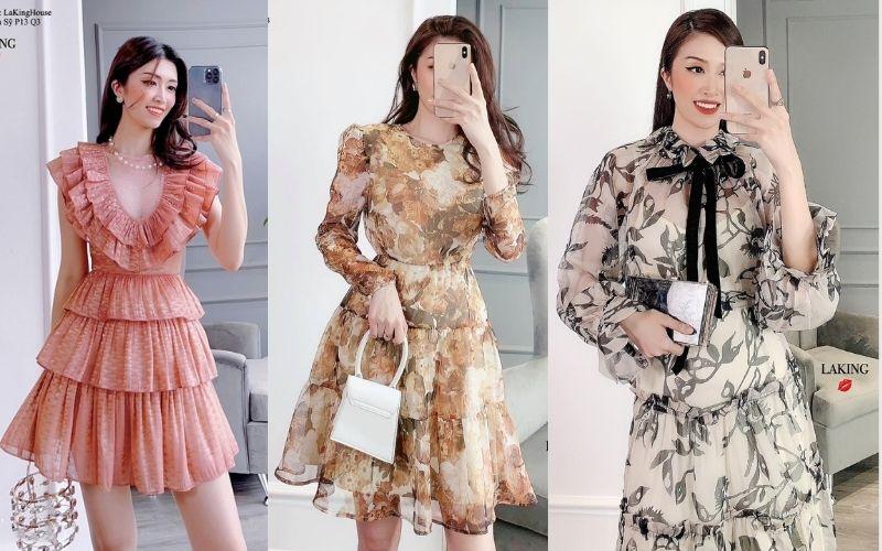 Những chiếc váy được yêu thích năm 2021